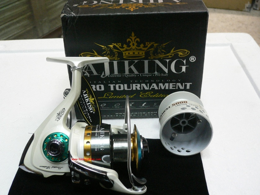 Ajiking Pro Tournament Limited Edition Spinning Reel 