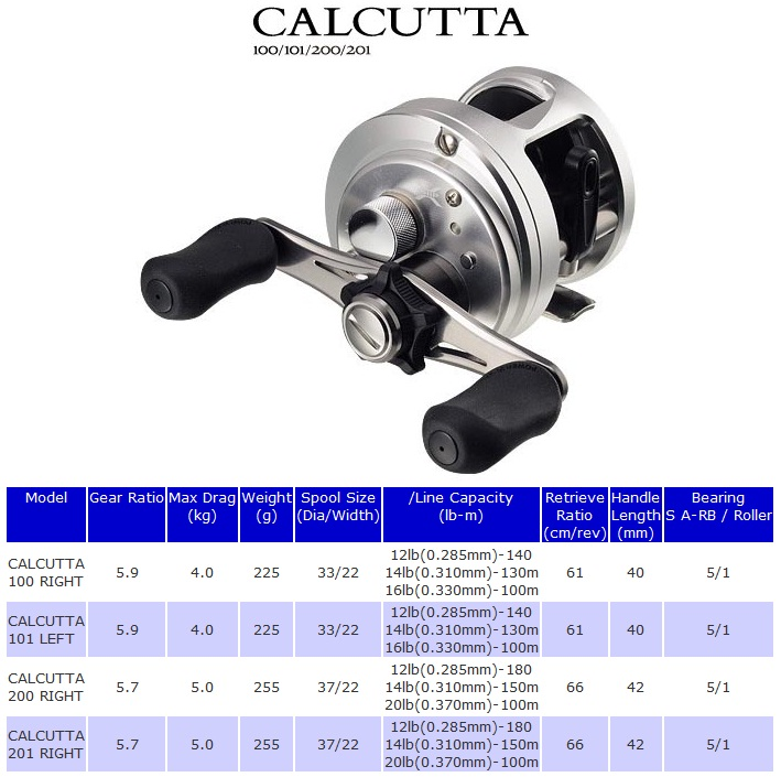 Shimano New Calcutta