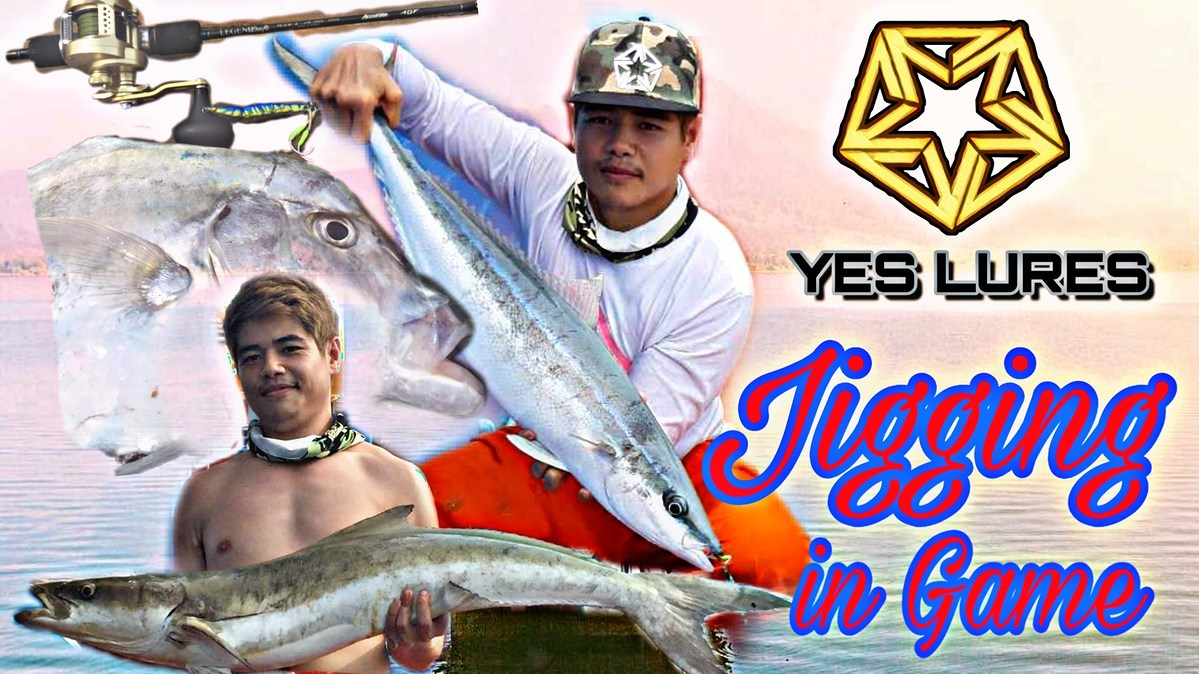 Jigging on the sea : YES LURES