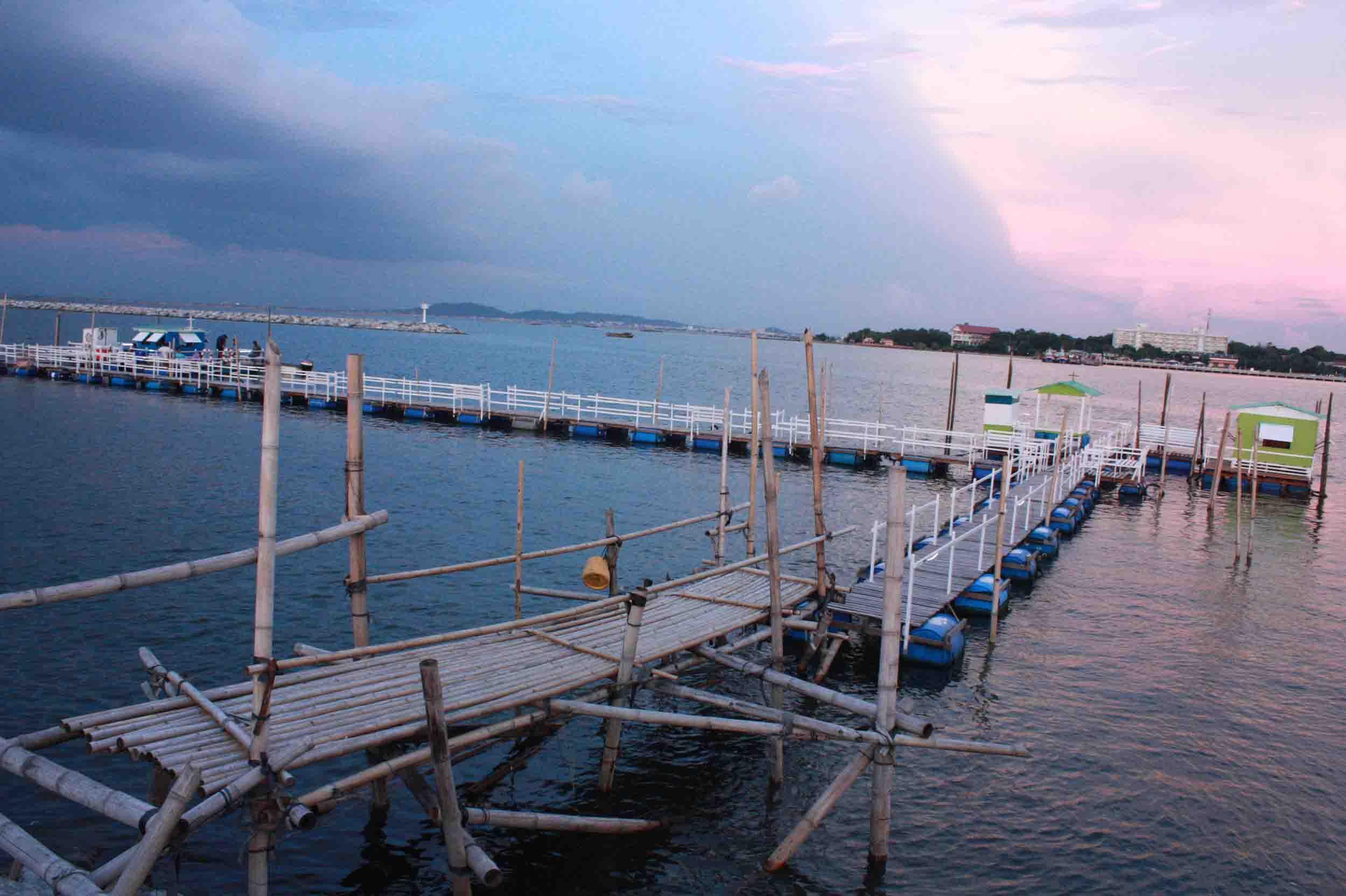 แพตกปลาอ่างศิลา ชลบุรี