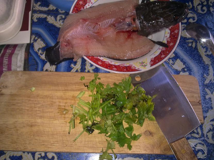 ลาบ...ปลาช่อนง่ายนิดเดียว