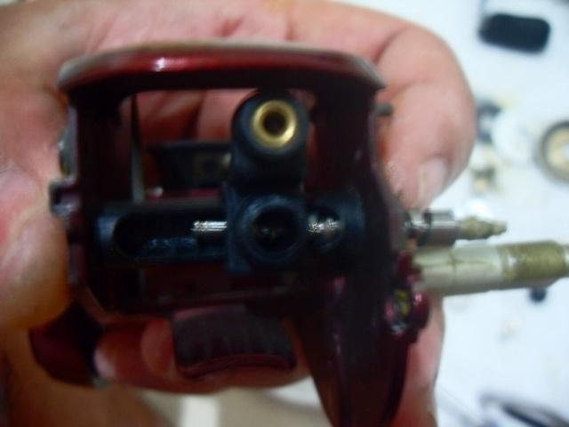 ล้างรอก Shimano Scorpion XT 1001
