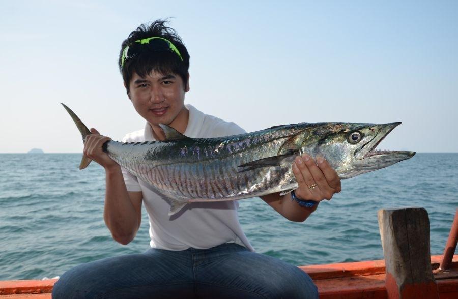 ทริปตกปลา สตูล กับบังหลีนำเจริญ วันที่17-19 พค56 หมายนอก 8ไมล์-ลูกแก้ว