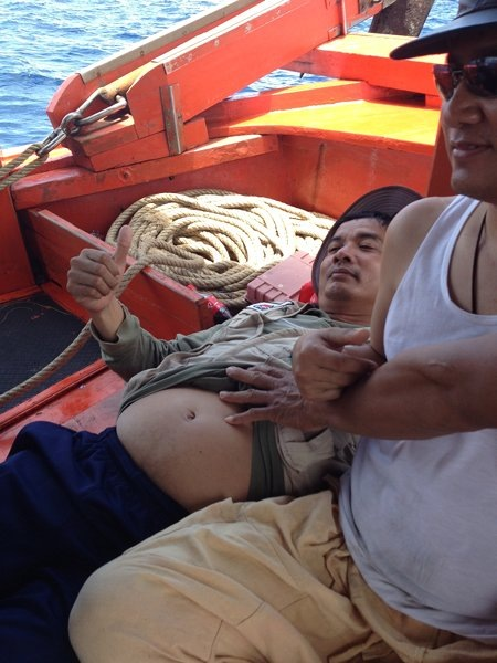 ทีมงานGun&Fishing รำลึกอดีต หมายนอกที่ตราดกะไต๋น้อง