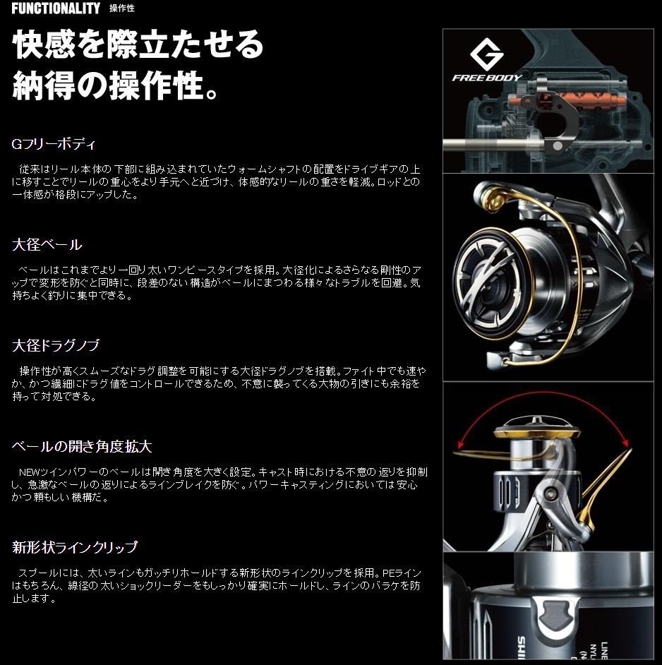 Shimano Twinpower 2015 / Twinpower SW 2015
