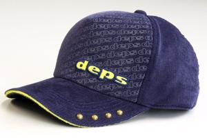 DEPS MEMBERS ROUND.6 CORDUROY CAP