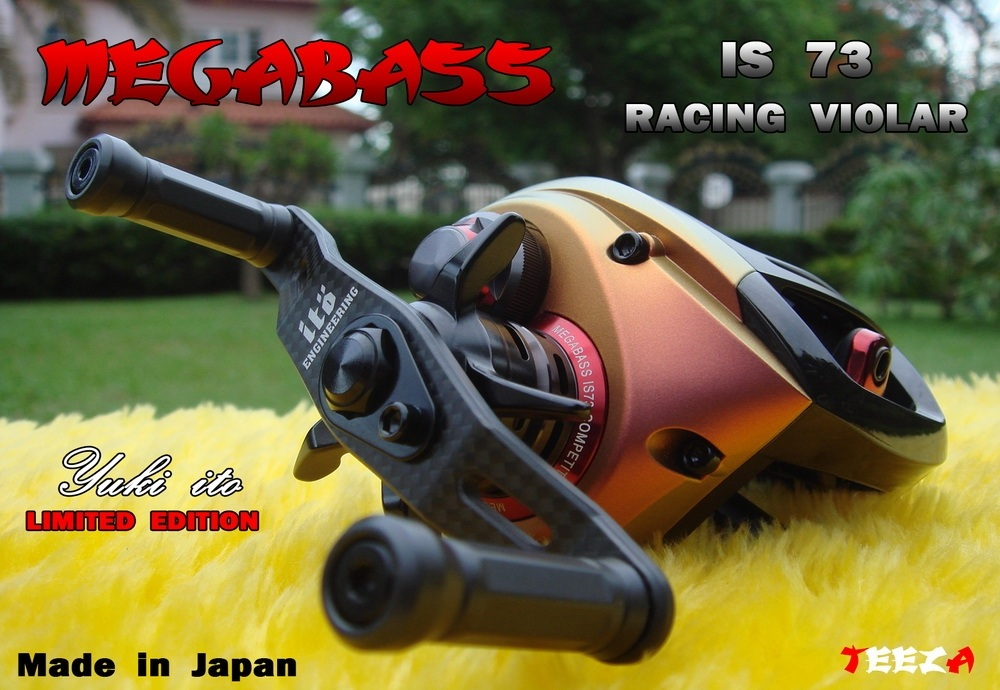 ***  TEEZA  ***  Show  !!  แมลงทับแดง  MEGABASS  IS73   LIMITED  Made  in  Japan