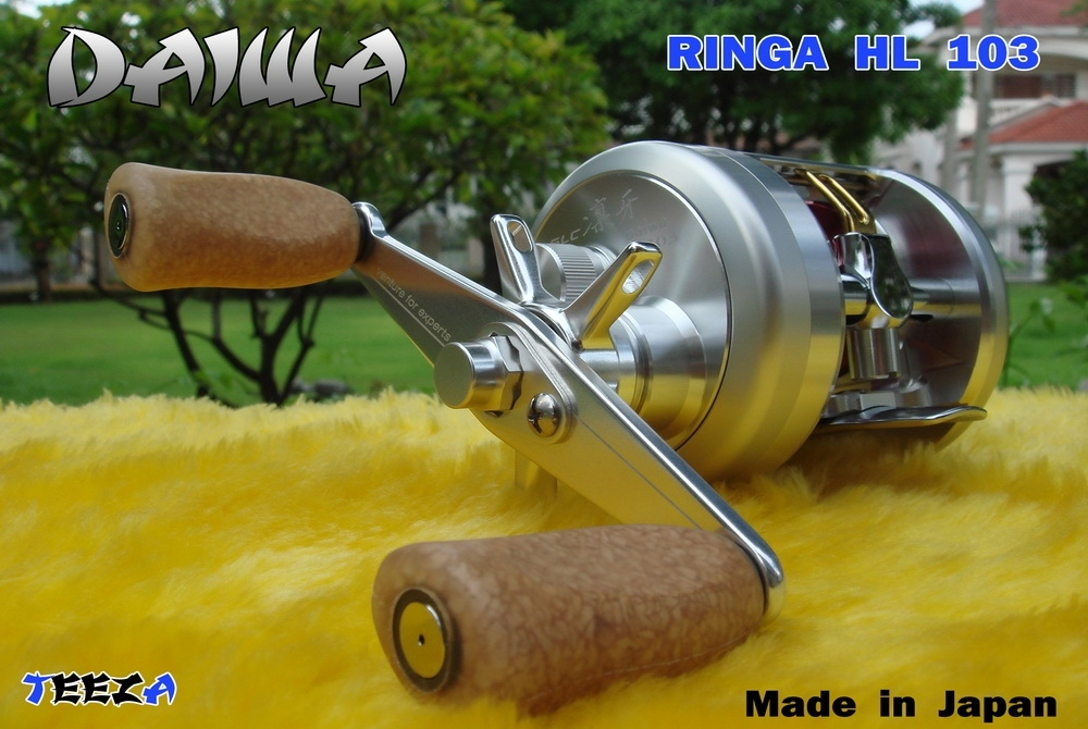 ***  TEEZA  ***  Show  !!  DAIWA  RINGA  HL  103  Made  in  Japan  !!