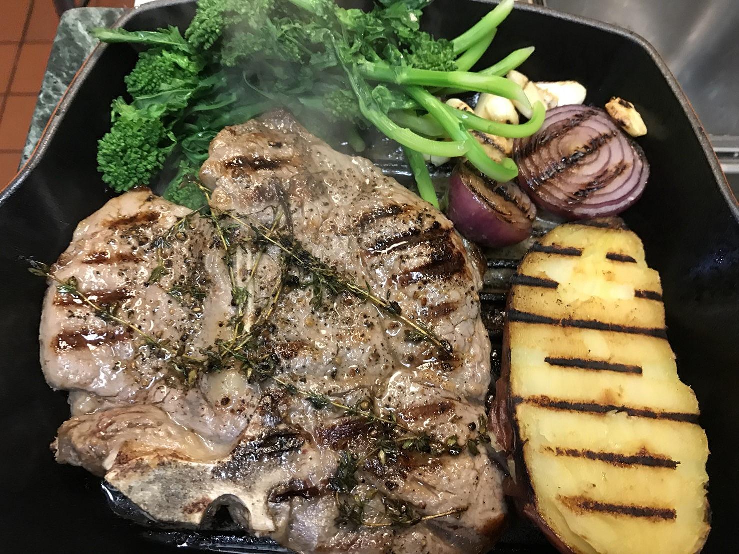 porterhouse Steak ร้อนๆจ้าา