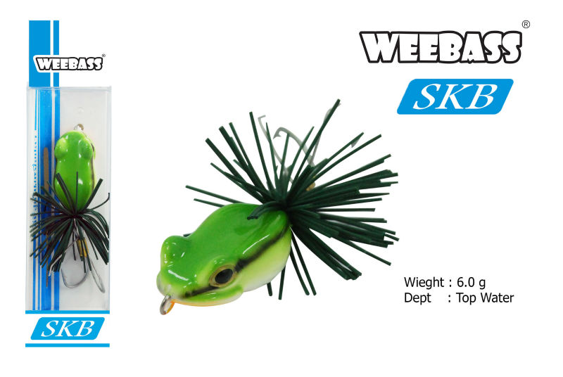 #ตามหาเหยื่อกบปลอม Weebass SKB
