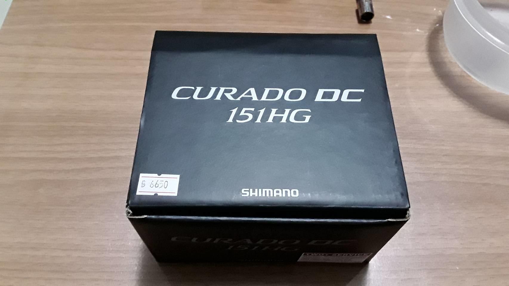 ขอสนก่อนเลย shimano curado 151 HG DC
