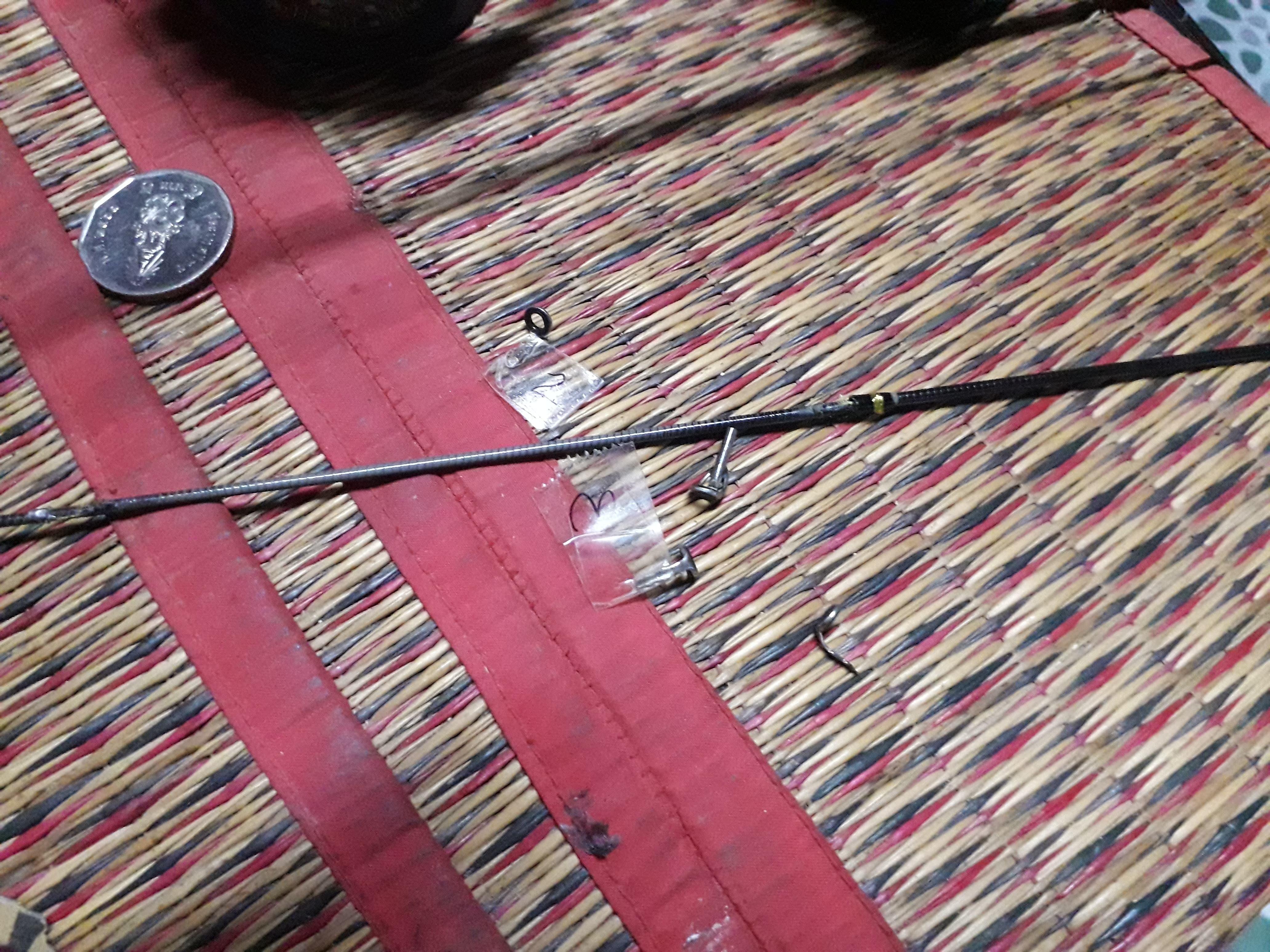 ซ่อมปลายคันหัก โดยยัดปลายโซลิต..
