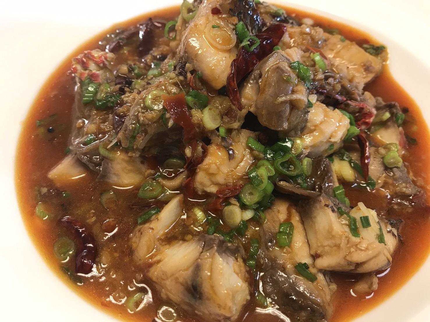 Sichuan boiled fish (Shui Zhu Yu, 水煮鱼)