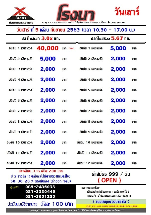 OPEN โปรเเกรม 40, 000 บาท / 24 ช่อง หาง 2000 ลงทะเบียน 999