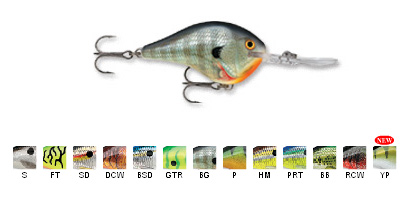 Rapala DT Series